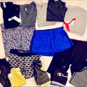 Athletic wear Lot, Your Fav. Brands! Size S/M
